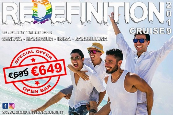 REDEFINITION 2019 - GRUPO TRAVELGAY A BORDO - VERSION ESPANOL;
