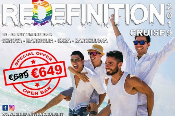 REDEFINITION CRUISE 2019 - TRAVELGAY GROUP ON BOARD - ENGLISH VERSION