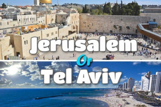 "Israele - Tel Aviv e Gerusalemme ""2 Cities, 1 break"""