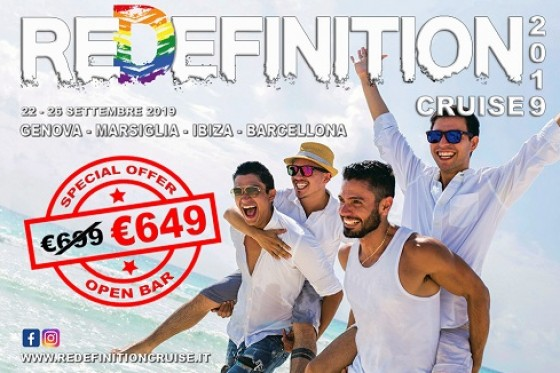 Crociera Gay REDEFINITION CRUISE 2019 - Gruppo Travelgay ;